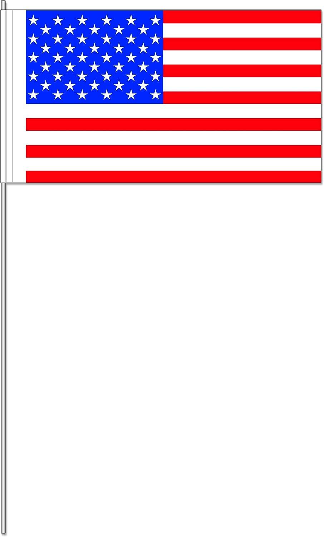 10 banderitas * Estados Unidos * como decoración para fiesta temática o Países de fiesta//Banderas banderines de papel Banderas Flag América Stars en Stripes: Amazon.es: Juguetes y juegos