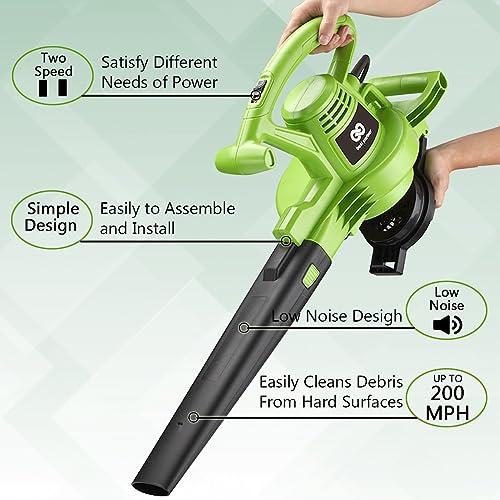 best leaf vacuum mulcher blower