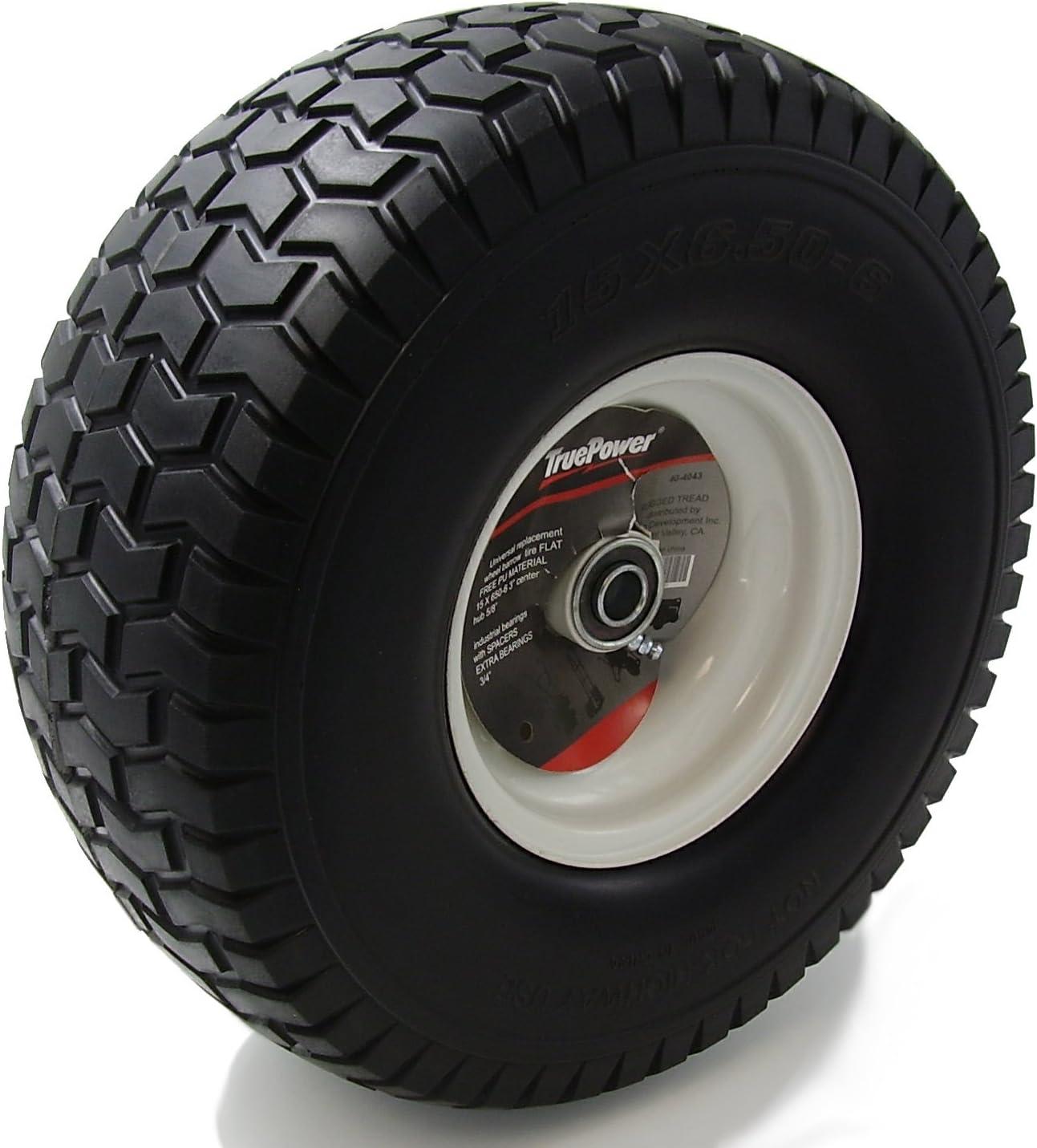 "10/"" wheelbarrow wheel hand truck trolley cart wheels 4.10//3.50-4 PU set 1-4 pcs"