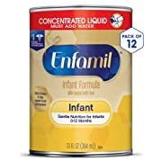 Enfamil Premium Concentrated Liquid Formula for Infants, 13-Ounce Cans (Pack of 12)