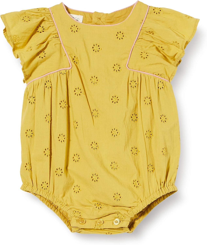 Gocco Baby-M/ädchen Ranita Openwork Strampler