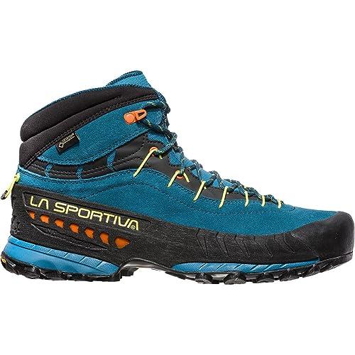 La Sportiva TX4 Mid GTX, Zapatillas de Senderismo para Hombre, (Ocean/Lava 000), 41 EU: Amazon.es: Zapatos y complementos