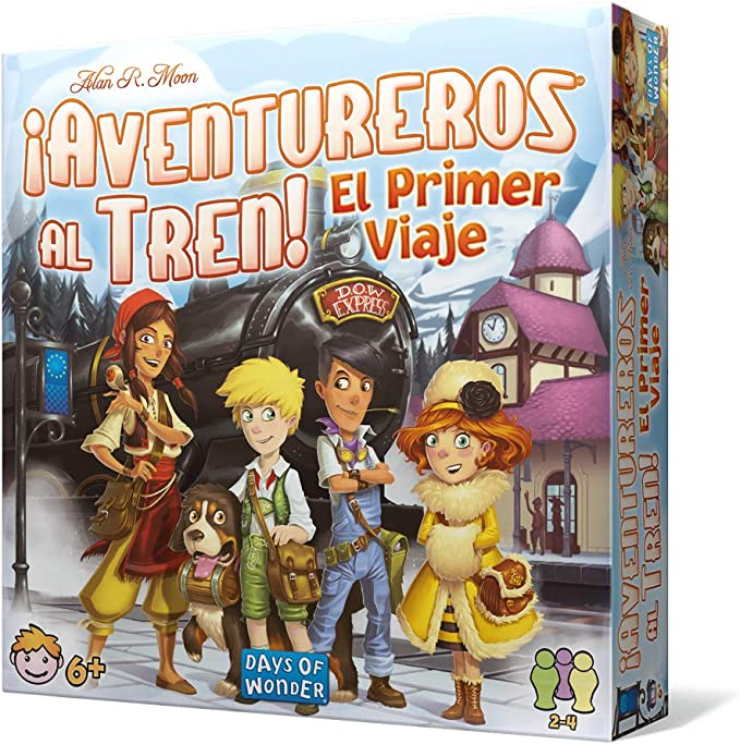 Days of Wonder-El Primer Viaje (DW720827) , color/modelo surtido: Amazon.es: Juguetes y juegos