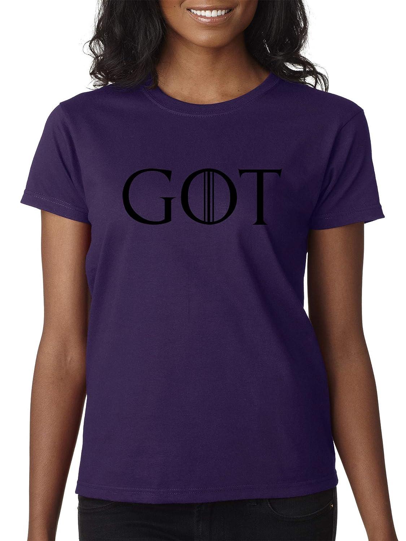 306eaac43120 Purple Trendy USA 1215 Women's TShirt GOT Game of Thrones TV Show Series