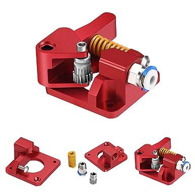 Doradus Ultimaker bricolage en acier inoxydable 2 m2u chargeur de vitesse de lextrudeuse de molette dentra/Ã/®nement pour les accessoires de limprimante 3D