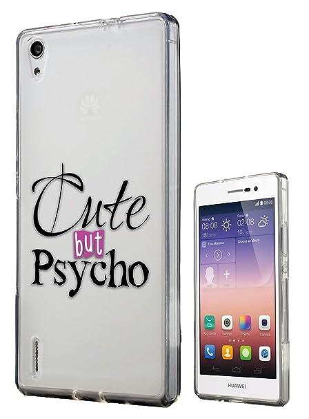 c0195 - Cute But Psicosis Diseño Huawei Ascend P7 Fashion ...