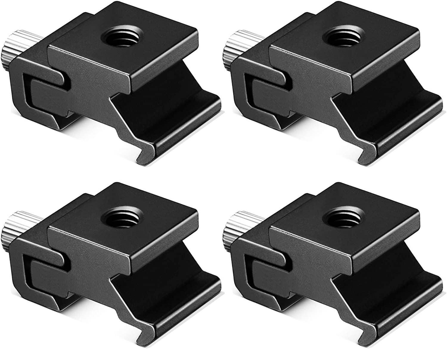 CAMVATE Cold Shoe Expension Adapter Install on 1//4-20 Female Thread Hole for Camera Accessory