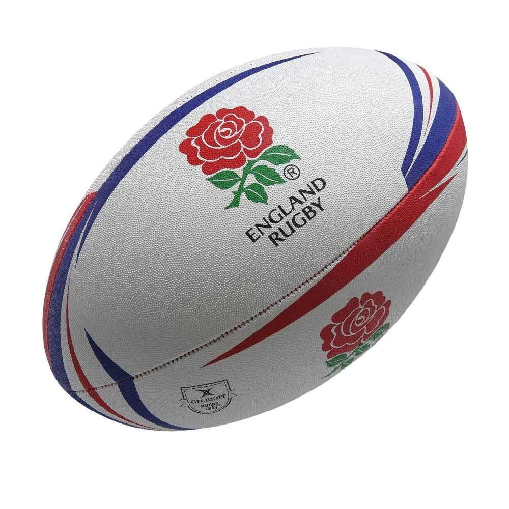 Pelota de Rugby GILBERT Inglaterra partidario (tamaño 4): Amazon ...