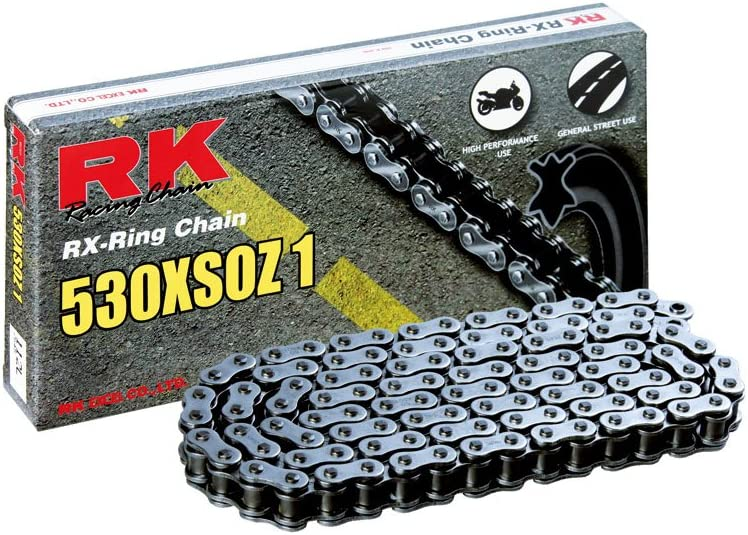 RK Racing Chain 530XSOZ1-110 110-Links X-Ring Chain with Connecting Link