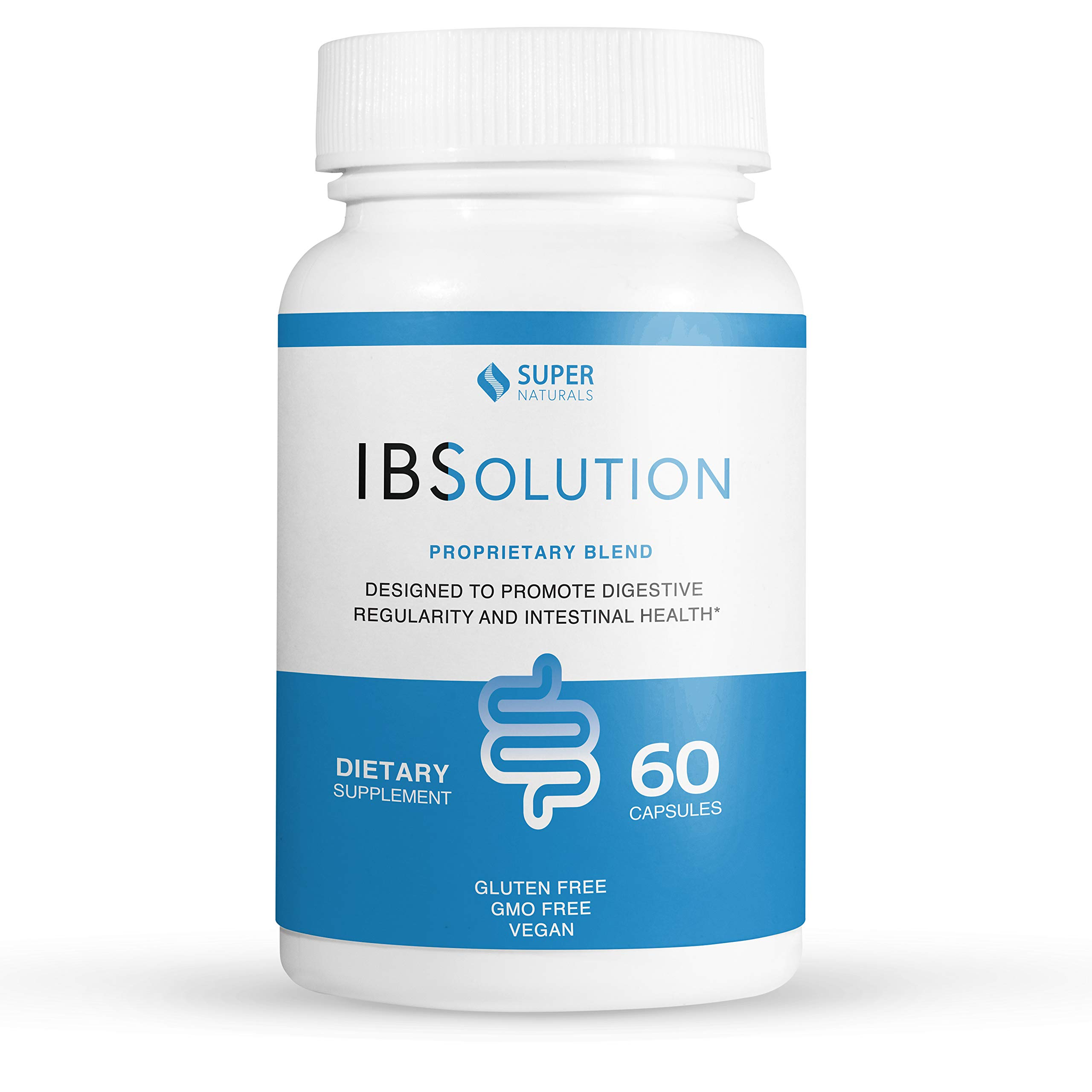 IBS Treatment by IBSolution | All-Natural Relief For Symptoms of Irritable Bowel Syndrome Including Bloating, Constipation, Gas, Diarrhea, and Abdominal Pain | Supports Digestive Health | 60 Capsules by JLM Nutritionals