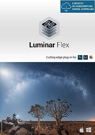 Amazon com: Luminar Flex - Photo Editing Plug-in [PC Download]: Software