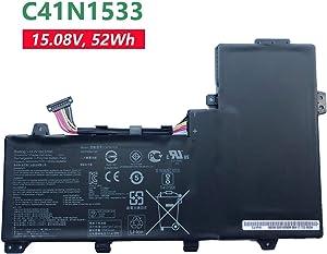 BOWEIRUI C41N1533 (15.2V 52Wh 3450mAh) Laptop Battery Replacement for Asus Q524U Q534U Q534UX Q534UX-BHI7T19 ZenBook Flip UX560UQ UX560UX Zenfone Flip UX560UX UX560UX-FJ020R Series 0B200-02010200