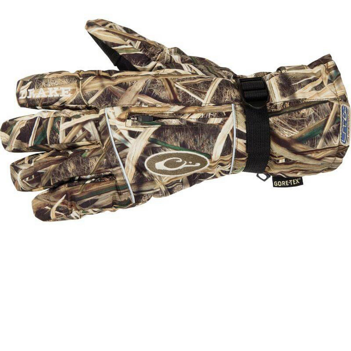 Drake Waterfowl LST Insulated Refuge Glove (Mossy Oak Shadowgrass Blades, Large) by Drake Waterfowl