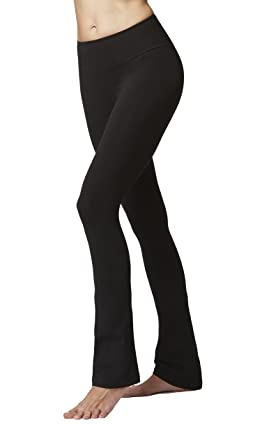 db474a2f99ef6 Lightweight Slimming Shaping Compression Yoga Trousers Pants Black Reg-XS