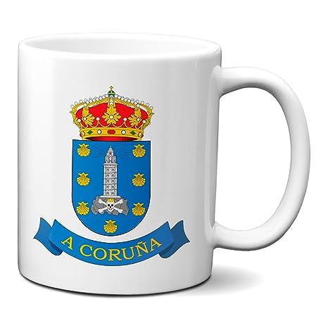 Planetacase Taza A Coruña Escudo Ciudad Galicia La Coruña ...