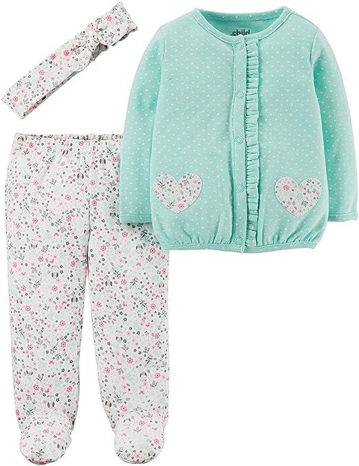 Carters Baby Girls Quick /& Cute Cardigan Set