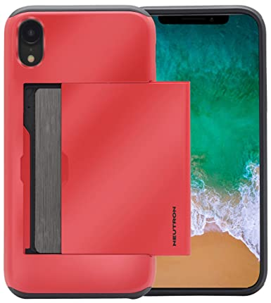 iphone xr shockproof case with card holder