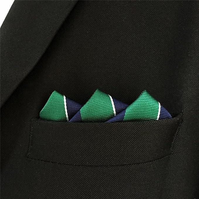 Shlax & Wing Rayas Corbatas Para Hombre Corbata de seda de seda ...