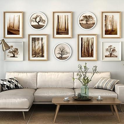 & pareti cornice set decorativo per parete 10 pezzi, soggiorno ...