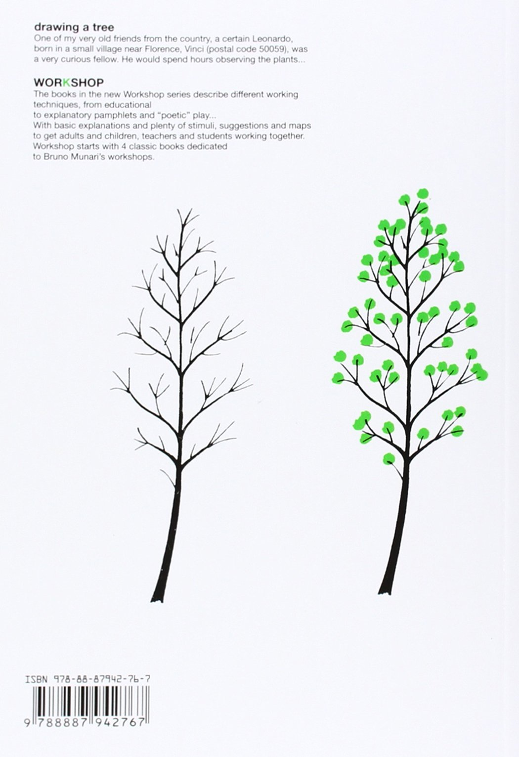 bruno munari drawing a tree about the workshop series bruno