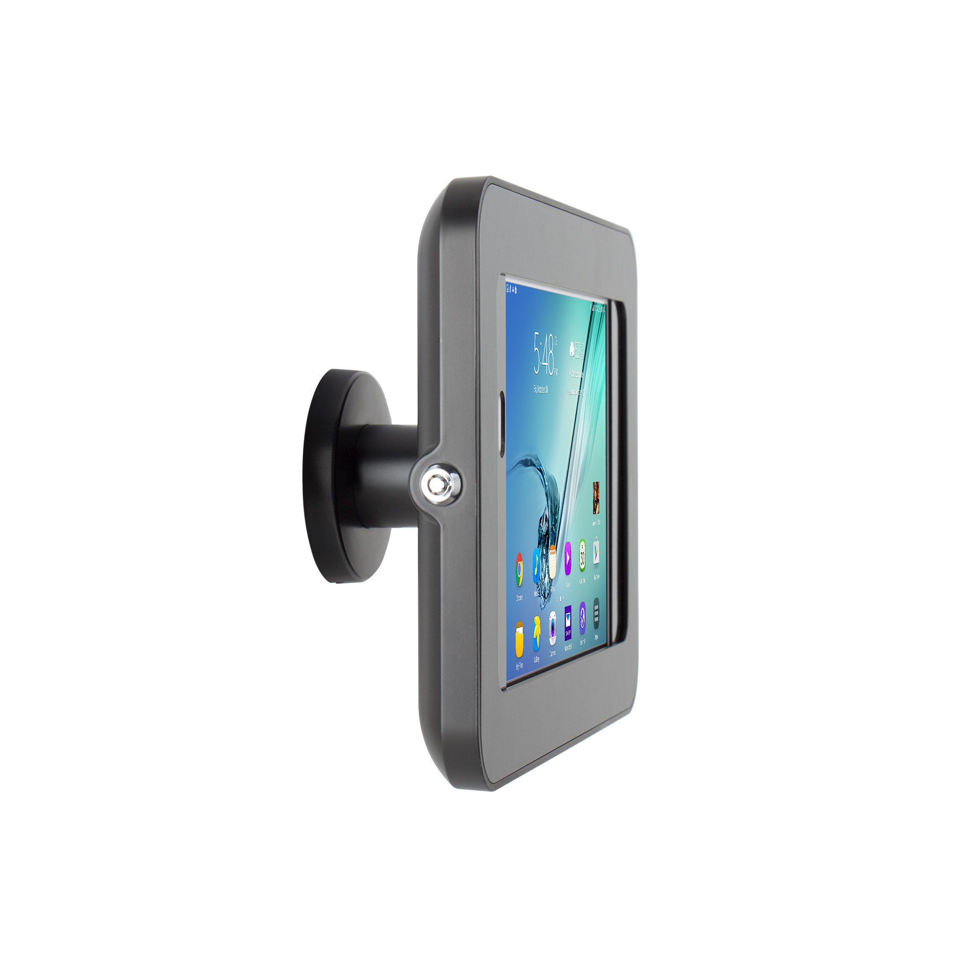 The Joy Factory KAS204B Elevate II On-Wall Retail Kiosk for Samsung Galaxy Tab S2 and S3, 9.7'', Black