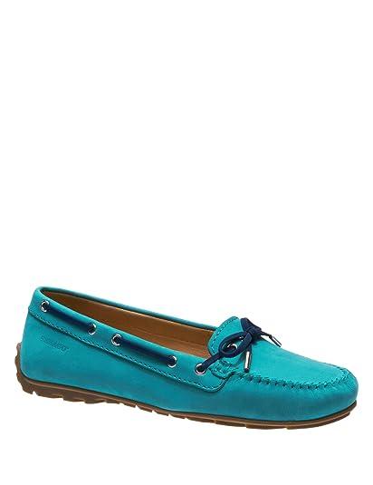 Sebago , Mocassins pour Femme Turquoise Turquoise DK