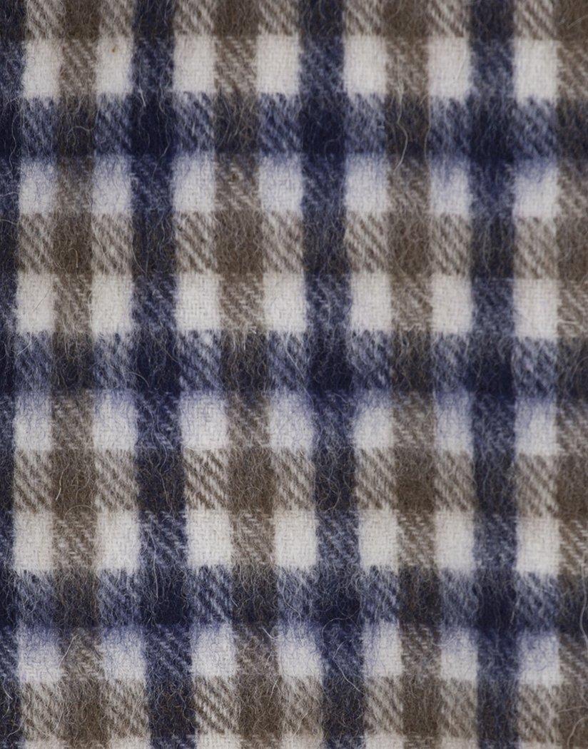 5bedecfb5f03 Aquascutum pour homme en laine d agneau Club Check Écharpe - Vicuna   Amazon.fr  Vêtements et accessoires