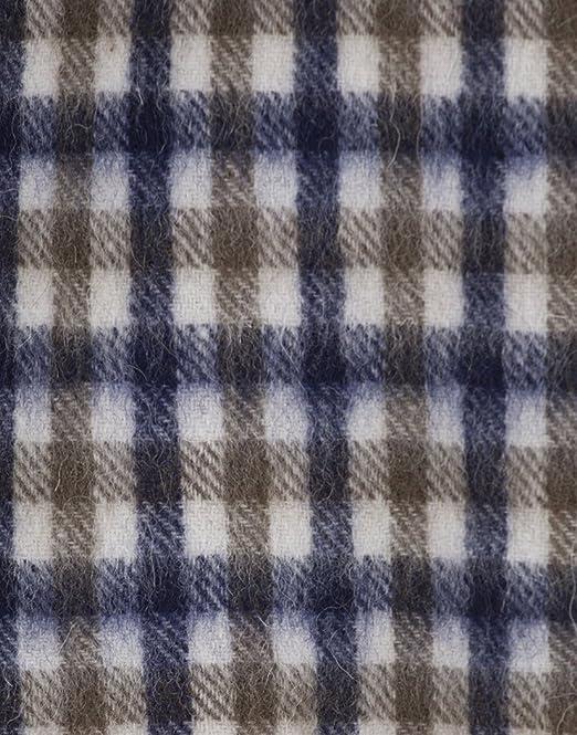 6ee105168f8d Aquascutum pour homme en laine d agneau Club Check Écharpe - Vicuna   Amazon.fr  Vêtements et accessoires
