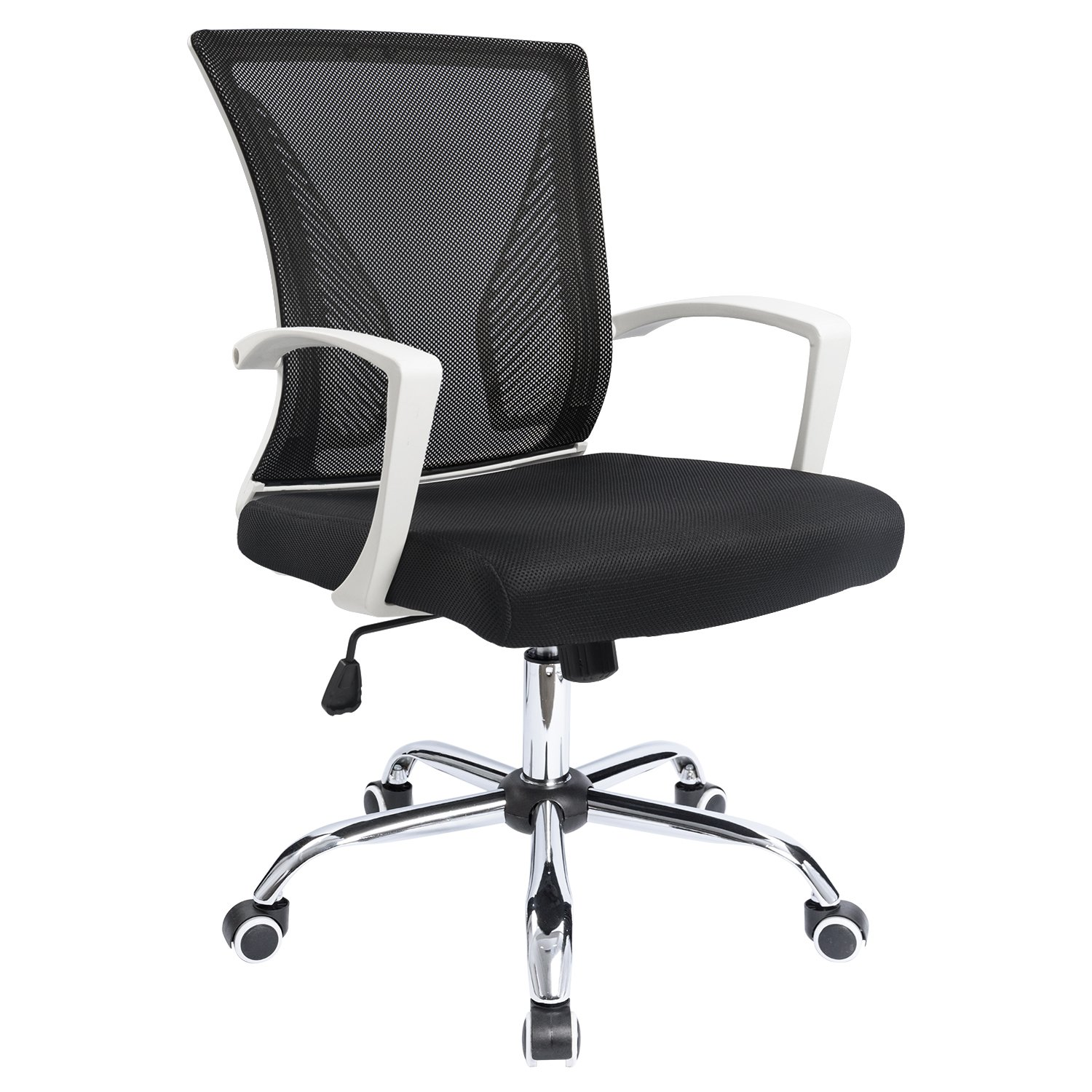 Furmax Office Chair Mid Back Swivel Lumbar Support Desk Chair, Computer Ergonomic Mesh Chair (