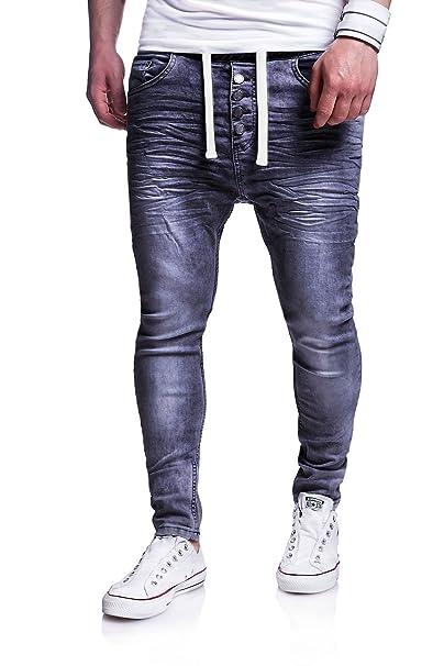seriöse Seite für die ganze Familie hell im Glanz MT Styles Men's Jogging-Jeans Buttons Trousers RJ-289 ...