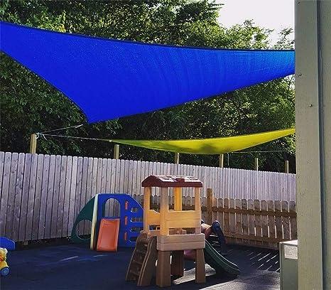 JFJL Sun Shade Sail Triangle para Patio Pérgola Sun Sail Shade UV Bloque De Protección Solar Sombrilla,Bloque UV Permeable De 185 gsm, Tela Duradera,Sand3m×3m×3m: Amazon.es: Hogar