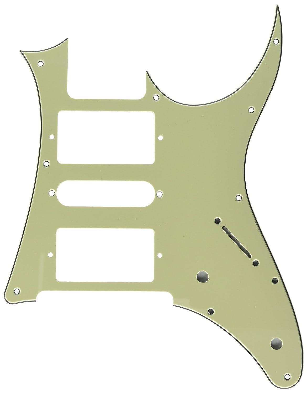 Kmise A7793 2ピース HSH エレキギター ピックガード 交換用 Ibanez Rg250 スタイル パール グリーン   B00S69HB5Y