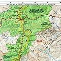 Official Shenandoah National Park, Virginia, Appalachian Trail Map (South District)