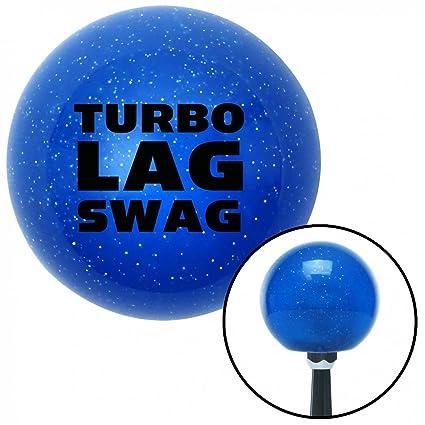 Amazon.com: American Shifter 21477 Blue Metal Flake Shift Knob (Black Turbo Lag Swag): Automotive