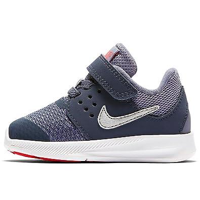 new concept 60f51 f06dd Nike Jungen Downshifter 7 (TDV) Leichtathletikschuhe Mehrfarbig (Thunder  Blue Metallic Silver 402) 26 EU  Amazon.de  Schuhe   Handtaschen