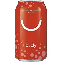 36-Count (2 x 18-Pack) Bubly Sparkling Water 12oz Cans (Strawberry)