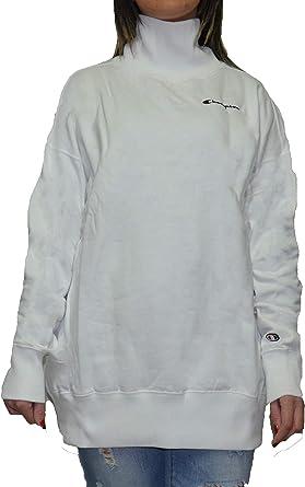 Champion Reverse Weave High Neck Sweatshirt Sudadera para Mujer ...