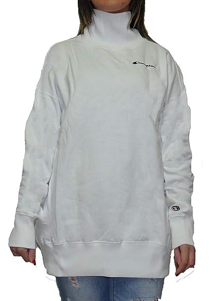 100% authentic f7d0b ad813 Champion Reverse Weave High Neck Sweatshirt, Felpa Donna ...