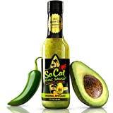 The Original Avocado SoCal Guac Sauce | Guacamole Salsa Verde | Mild Taco and Burrito Sauce | California Taqueria Style with Avocados, Tomatillos and Green Jalapeno Chiles |5 FL OZ| by SoCal Hot Sauce