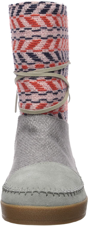 TOMS Damen Nepal modischer Stiefel Raues Ildleder Extil Ix