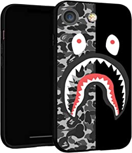 """iPhone 7 Case 8 Case 4.7"""",Case Cover for iPhone 7/8 (Bape-Shark)"""