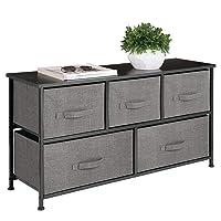 Amazon.com deals on Mdesign Extra Wide Dresser Storage Tower