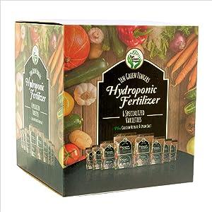 Ten Green Fingers Hydroponic Nutrients Dry Fertilizer Powder 6 Variety Grow Box