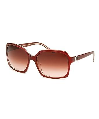 e11f4e3662013 Fendi Sunglasses 5267R 604 Dark Red Brown Red Gradient  Amazon.co.uk   Clothing
