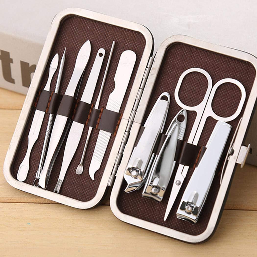 Zimrio 10pcs manucure pédicure ongles soins set coupe-ongles nipper cutter kit Accessoires de décoration pour nail art