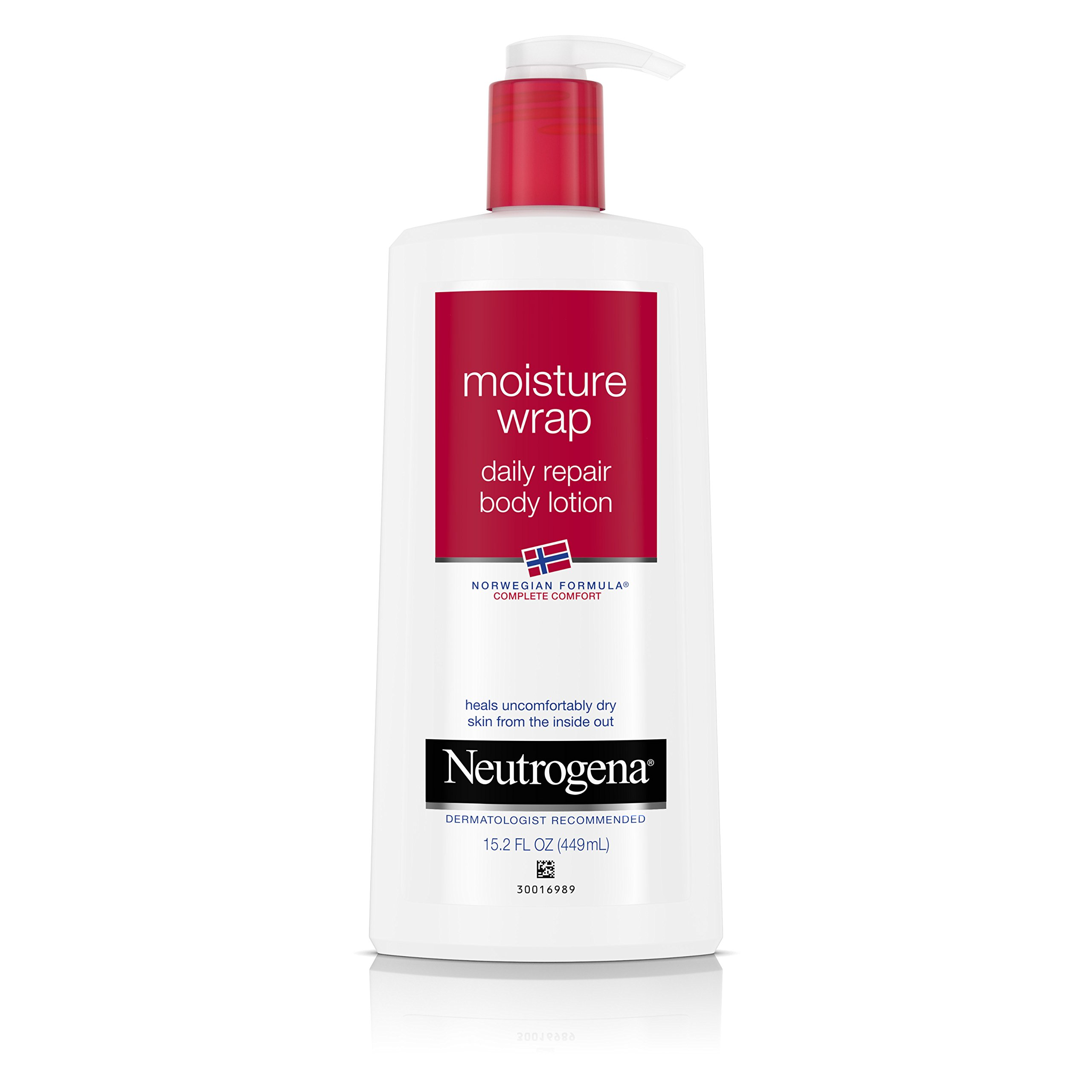 Neutrogena Norwegian Formula Moisture Wrap Daily Repair Body Lotion, 15.2 Oz (Pack of 3)