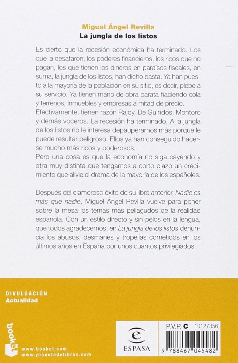 La jungla de los listos (Divulgación): Amazon.es: Revilla, Miguel ...