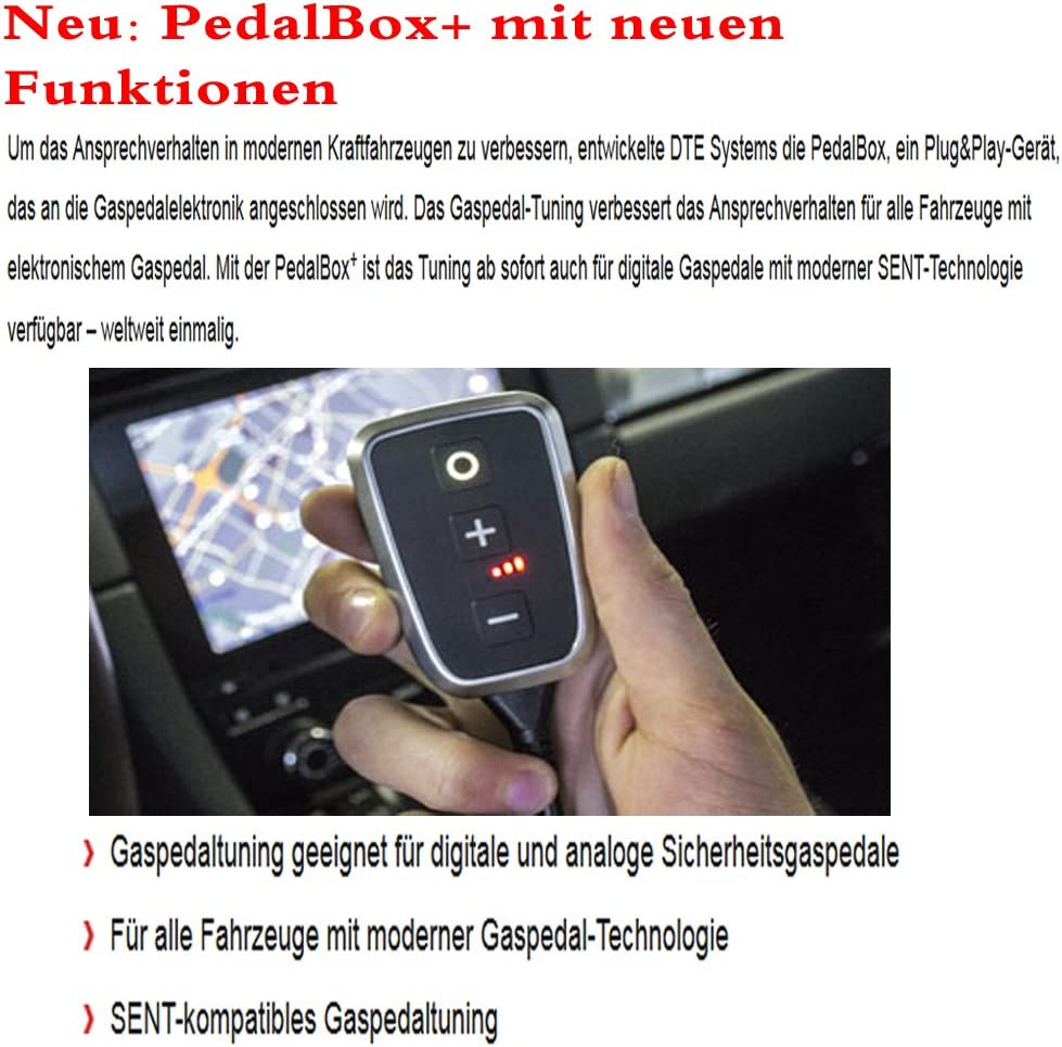 DTE Pedalbox Gaspedaltuning Plus A036.776