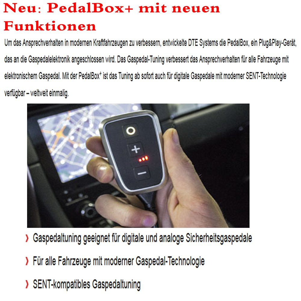 DTE Pedalbox Gaspedaltuning Plus A036.434