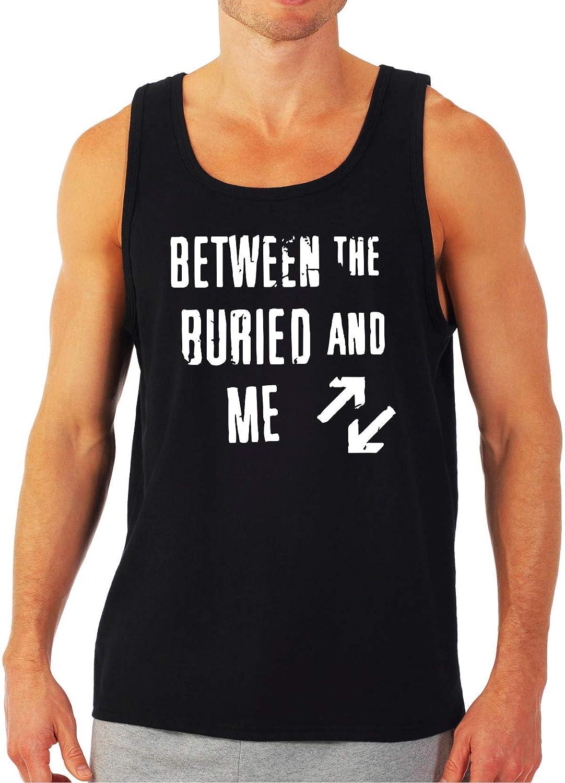 MYOS Between The Buried and Me Adult Black Tank Top